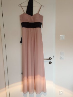 Langes Kleid montego rose/schwarz Größe 36