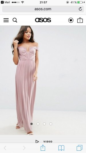 Langes Kleid rose