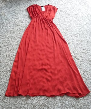 Langes Kleid Satin H&M