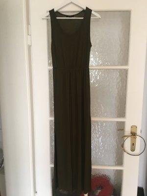 Langes Kleid, tailliert