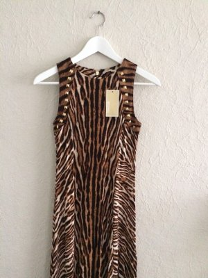 Langes Kleid Tiger Muster MM