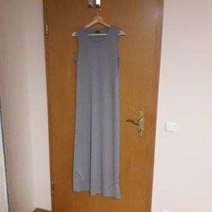 Fransa Maxi Dress grey brown polyester