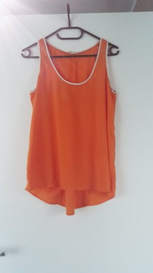 Langes luftiges Top in Orange