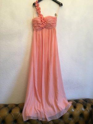 Langes Maxi Kleid mit Rosen Abiball / Hochzeit