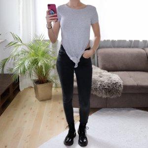 Tally Weijl Cropped shirt lichtgrijs-grijs
