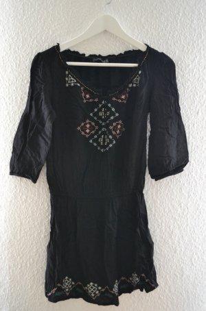 Langes Oberteil Bluse im Folklore Stil bestickt