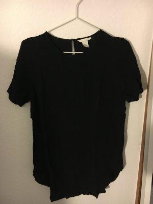 H&M Lang shirt zwart