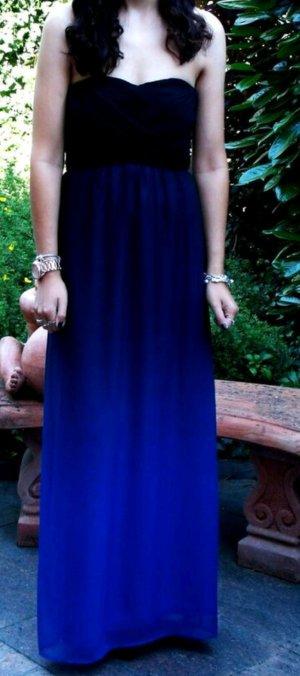 Langes Ombre Abendkleid