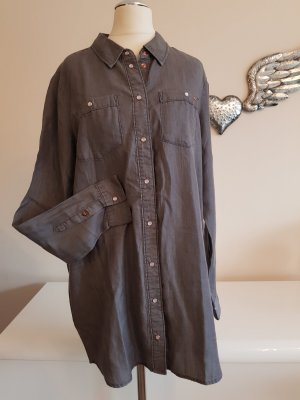 Only Shirt Blouse grey lyocell