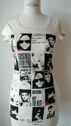 Langes Printshirt