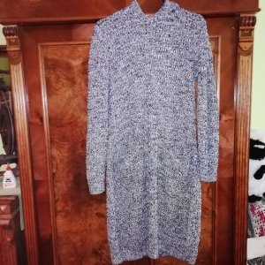 Sweater Dress white-black