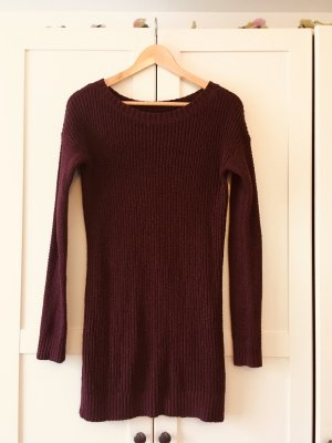 Hollister Sweater Dress carmine-purple