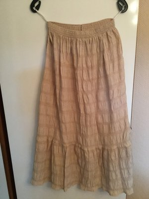Maxi Skirt cream cotton