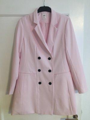 Robe manteau rosé