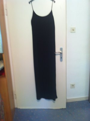 Langes schwarzes Kleid , GR = 38