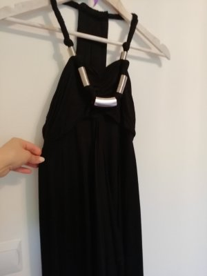 langes schwarzes Kleid OASIS S 36