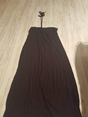 Langes schwarzes Kleid von Forver21