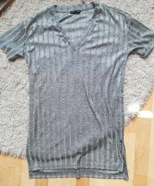 Zara Camicia lunga argento