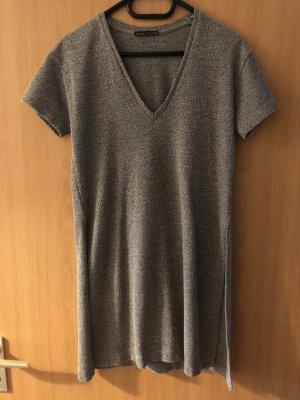 Langes Shirt mit Schlitz Größe M von Zara