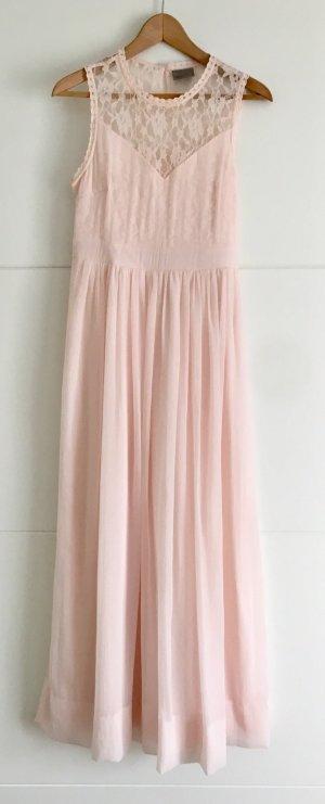 Robe empire rosé