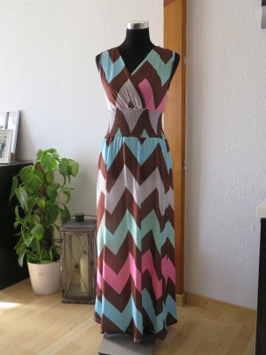 Stretch Dress multicolored polyester