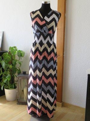 Fond de robe multicolore polyester