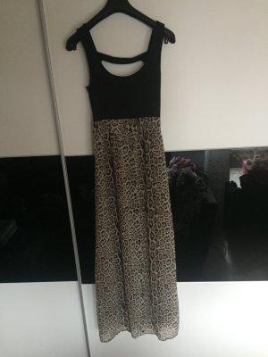 Langes Sommerkleid mit Muster