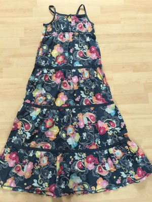 Langes Sommerkleid mit Trägern für Kinder