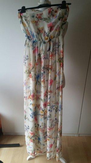 Langes Sommerkleid von Bershka Gr. S