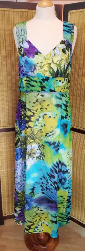 Jones Maxi Dress multicolored