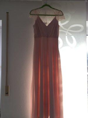 Langes Spitzenkleid (Brautjungernkleid)