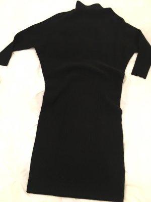 Hallhuber Abito di maglia nero