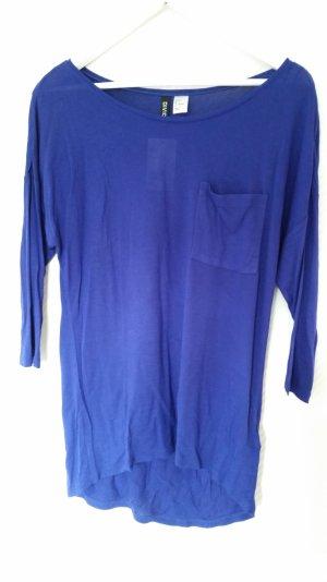 Langes Top in blau von H&M