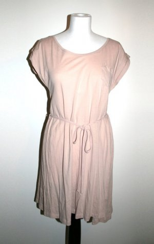 Langes Top / Kleid, beige/rosé, Gr. S