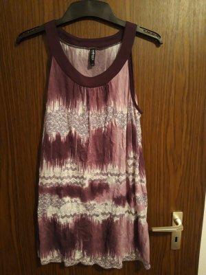 langes Top/kurzes Kleid