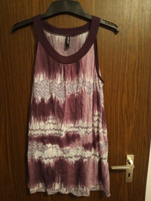 Takko Mini Dress white-lilac