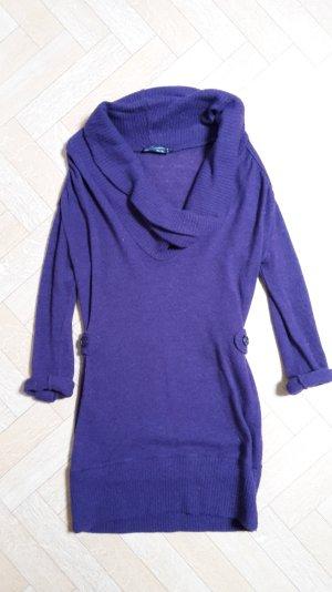 Langes Top/Pullover mit weitem Kragen von Rinascimento in lila