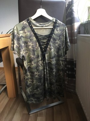 Langes Tshirt camouflage