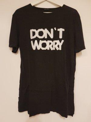 Zara T-shirt noir-gris anthracite