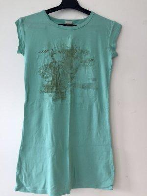 Langes türkisenes T-Shirt von Diesel