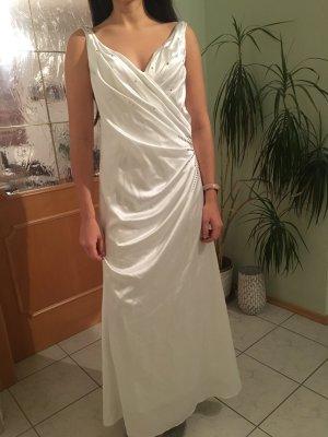 Langes weißes Maturaballkleid/Hochzeitskleid!!