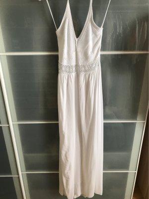 Langes weißes Sommerkleid