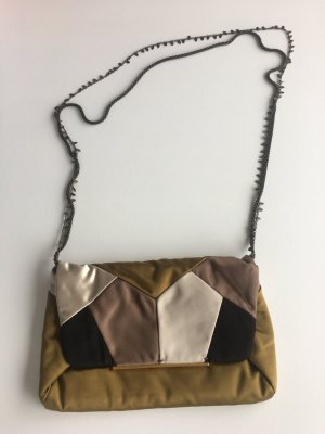 Lanvin Abendtasche aus Satin im Patchwork-Stil