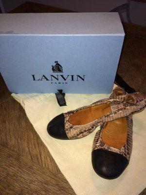 Lanvin Ballerinas Reptilienleder