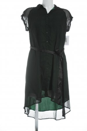 Lanvin Blusenkleid schwarz-grün Elegant