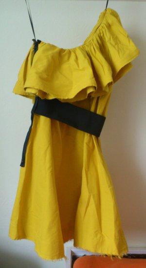Lanvin Designer Kleid in senfgelb