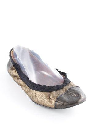 Lanvin faltbare Ballerinas mehrfarbig Glanz-Optik