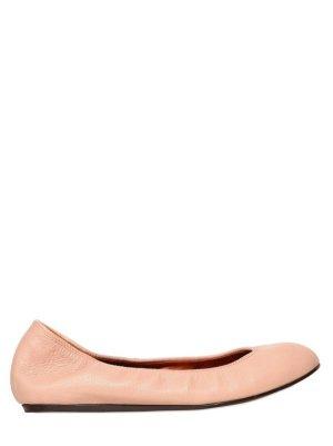 Lanvin Flats Ballerinas Gr. 40 Pastell
