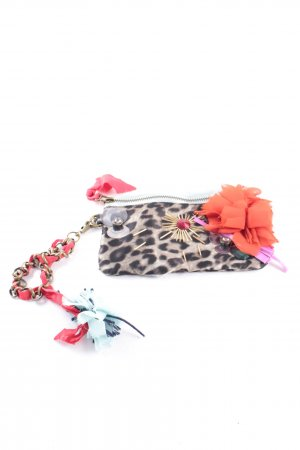 Lanvin for H&M Clutch mehrfarbig Animal-Look