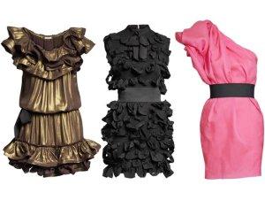 Lanvin for H&M mittleres Kleid